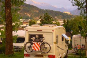 Camping Salzburg - Camping panorama Stadtblick